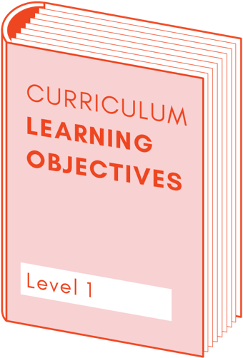 Curriculum learning objectives