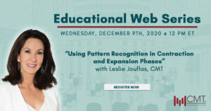 """Webcast: """"Using Pattern Recognition in Contraction and Expansion Phases"""" with Leslie Jouflas, CMT"""